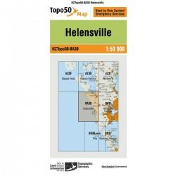 Topo50 BA30 Helensville