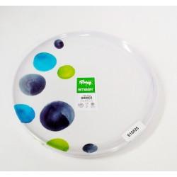 Smash Melamix Watermark Dinner Plate - set of 4