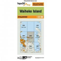 Topo50 BA33 Waiheke Island
