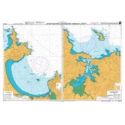 NZ 5114 Hydrographic Nautical Chart- Doubtless Bay Whangaroa Harbour
