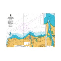 NZ 7132 Hydrographic Nautical Chart- Approaches to Westport