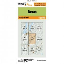 Topo50 CB13 Tarras