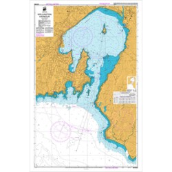 NZ 4633 Hydrographic Nautical Chart- Wellington Harbour