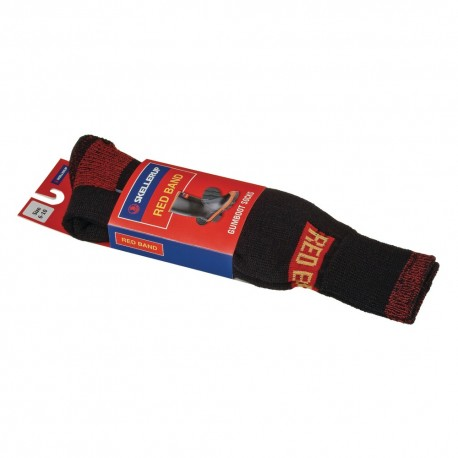 Red Band Gumboot Socks
