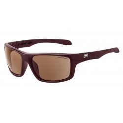 Dirty Dog Axle Sunglasses - Dark Brown Frames with Brown Polarized Lens