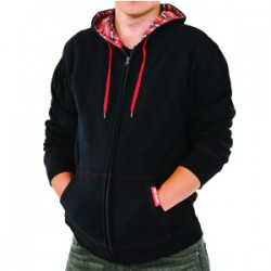 Red Band Black Hoodie