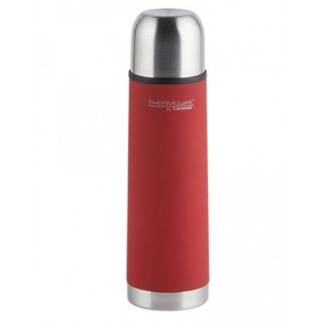 Thermos Stainless Steel Slimline ThermoCafe Vacuum Flask 1.0 Ltr
