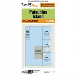 Topo50 CJ07/CK07 Putauhina Island