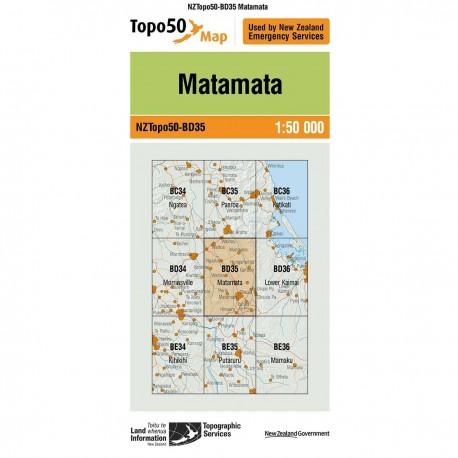 Topo50 BD35 Matamata