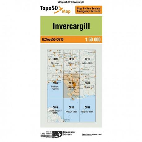 Topo50 CG10 Invercargill