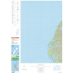 NZ Topo 250 Map 24 - Dusky Sound