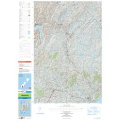 NZ Topo 250 Map 26 - Alexandra