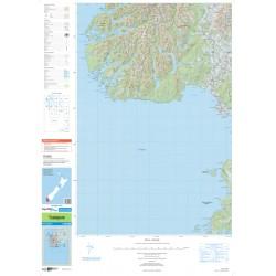 NZ Topo 250 Map 28 - Tuatapere
