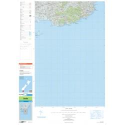 NZ Topo 250 Map 30 - Owaka