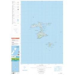 NZ Topo 250 Map 31 - Chatham Islands