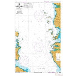 NZ 5327 Hydrographic Nautical Chart- Waiheke Island to Coromandel Peninsula Chart