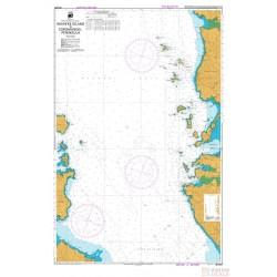 NZ 5327 Hydrographic Nautical Chart- Waiheke Island to Coromandel Peninsula Chart