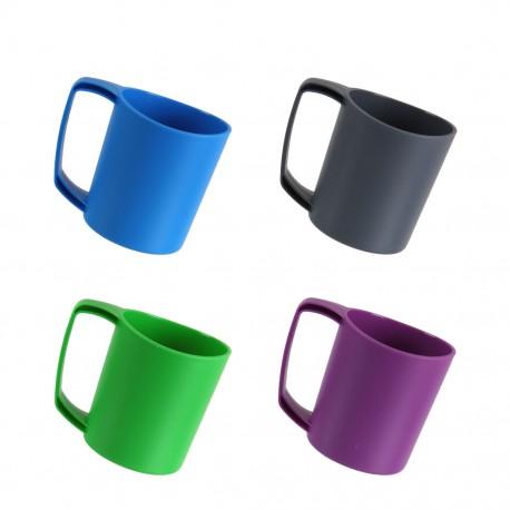Ellipse Plastic Camping Mug