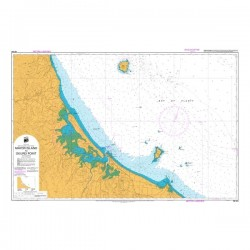 NZ 541 Hydrographic Nautical Chart- Mayor Island to Okurei Point
