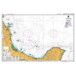 NZ 54 Hydrographic Nautical Chart- Cuvier Island to East Cape