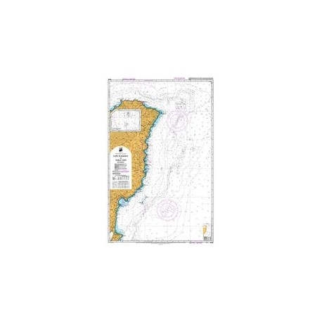 NZ 55 Hydrographic Nautical Chart- Cape Runaway to Table Cape
