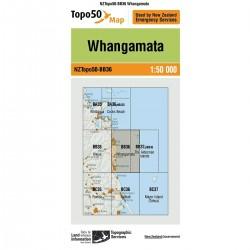 Topo50 BB36 Whangamata
