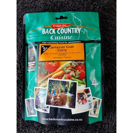 Back Country Cuisine Jamaican Goat Curry