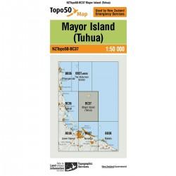 Topo50 BC37 Mayor Island (Tuhua)