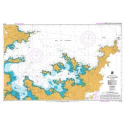 NZ 5125 Hydrographic Nautical Chart- Bay of Islands