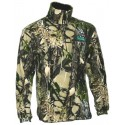 Ridgeline Micro Fleece Long Sleeve Shirt - Buffalo Camo