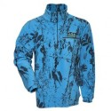 Ridgeline Micro Fleece Long Sleeve Shirt - Blue Camo