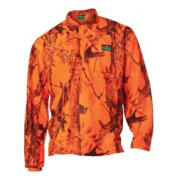 Ridgeline Micro Fleece Long Sleeve Shirt - Blaze Camo