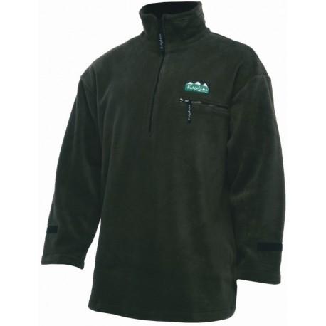 Ridgeline Micro Fleece Long Sleeve Shirt - Olive