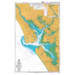 NZ 4265 Hydrographic Nautical Chart- Kaipara Harbour Chart