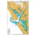 NZ 4265 Hydrographic Nautical Chart- Kaipara Harbour Chart