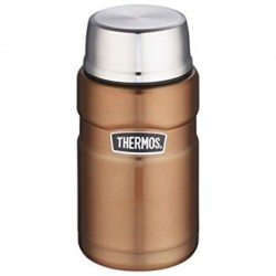 Thermos Stainless Steel Copper Food and Drink Flask 710ml