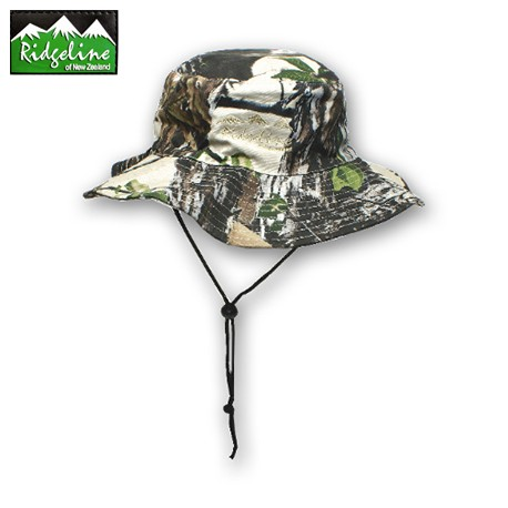 Ridgeline Cotton Bush Hat Buffalo Camo