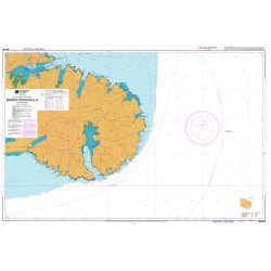NZ 632 Hydrographic Nautical Chart - Banks Peninsula