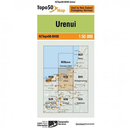 Topo50 BH30 Urenui