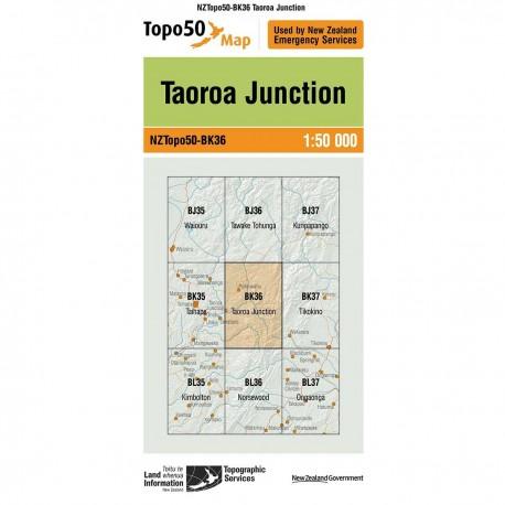 Topo50 BK36 Taoroa Junction