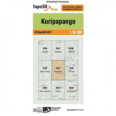 Topo50 BJ37 Kuripapango
