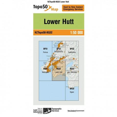 Topo50 BQ32 Lower Hutt