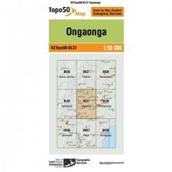 Topo50 BL37 Ongaonga