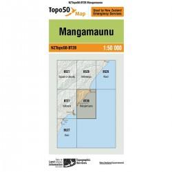 Topo50 BT28 Mangamaunu