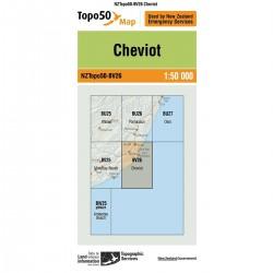 Topo50 BV26 Cheviot