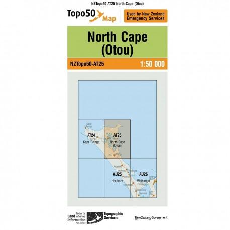 Topo50 AT25 North Cape (Otou)