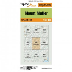 Topo50 BS26 Mount Muller