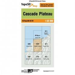 Topo50 BZ10 Cascade Plateau