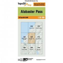 Topo50 CA09 Alabaster Pass