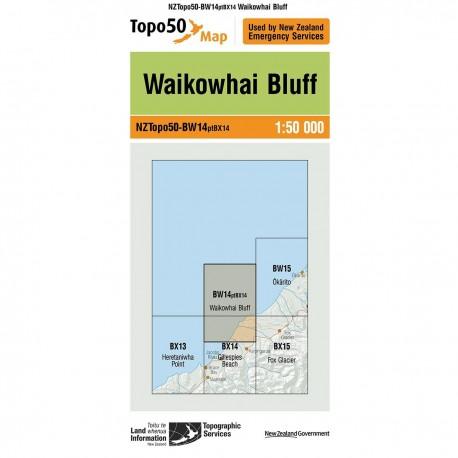 Topo50 BW14 Waikowhai